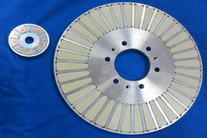 The planar rotor components are mainly used in the aerospace field, automotive transmission systems